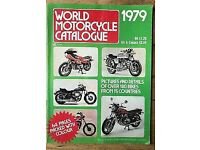 World Motorcycle Catalogue 1979