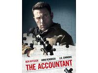 The Accountant (2016) HD DVD
