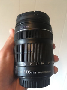 Canon 18-135 Zoom Lens f3.5-5.6
