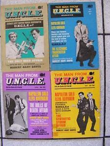 1966-1967 The Man From UNCLE Magazine U.N.C.L.E.