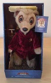 Aleksandr meercat toy and Safari Oleg limited edition meercat toy.