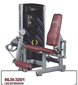 Leg Extension and T-Bar Row Commercial Gym Equipment