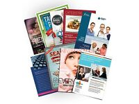 SKYLINE PRINT SERVICES. LEAFLET AND FLYER SPECIALIST