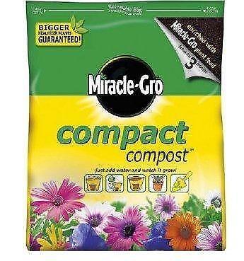 Miracle gro compost fertiliser soil improvement ebay - Miracle gro all purpose garden soil ...