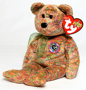 Speckles the Bear Ty Beanie Baby - TyTrade.com exclusive