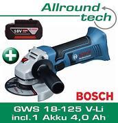 Bosch AKKU Winkelschleifer