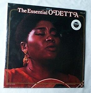 ODETTA~THE ESSENTIAL ODETTA~RARE SEALED 2 LP SET~VANGUARD RECORDS