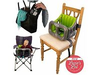 Airtushi Inflatable Portable High Chair
