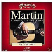 Light Gauge Acoustic Guitar Strings