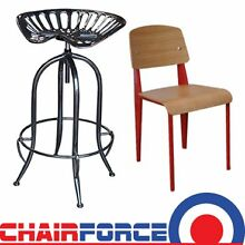 Tractor stools and Frazier Chairs - Cafe dining restaurant home Silverwater Auburn Area Preview