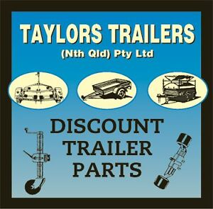 NEW - TROJAN Galv Trailer Disc - FORD with Ford S/l Bearings Cairns Cairns City Preview
