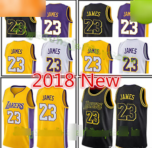 Lebron James - Lakers Jerseys - New - Stitched