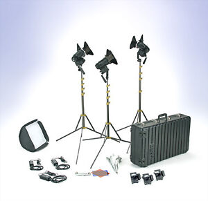 Lowell Tungsten 3 light kit