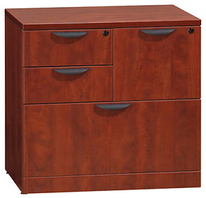 4 drawer filing cabinet.  Espresso colour