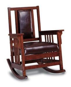 Gentil Mission Oak Rocking Chairs