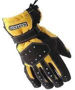 Motorcycle Gloves Yellow