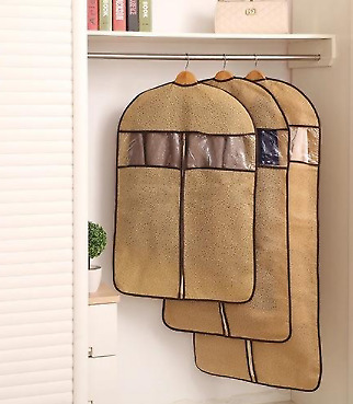 Thick Non-woven fabrics clothing coat suit dust cover hanging bag