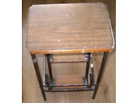 Folding Step Stool - Steel - Good and Working Order- 30 pounds