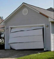 Garage doors and openers repair,service and installation