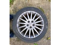 "Vectra C sri 100th edition 17"" 5 stud 4x wheels"