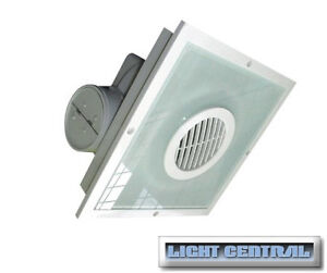 2in1 Square Round Bathroom Exhaust Fan Light Fan In One Unit Ebay