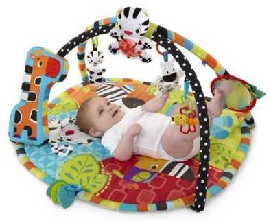 Baby play gym activity mat