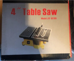 "4"" Table Saw"