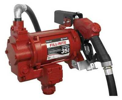 Fill-rite Fr310vb Fuel Transfer Pump 115230vac 35 Gpm 34 Hp Cast Iron