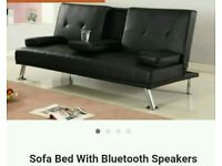Sofa bed with Bluetooth Speaker