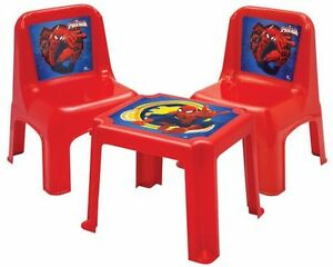Disney Princess & Marvel Ultimate Spider-Man 4-Piece Patio Set