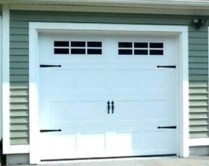 "Haas Insulated Garage door 3 years old 9""x8"""