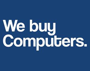 We buy computers!