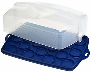 Tupperware Rectangular Cake Taker & Sandwich Keeper Plus