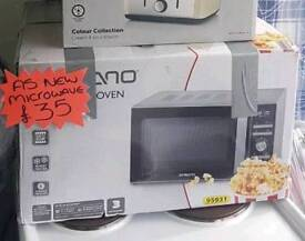 Microwave oven new in box