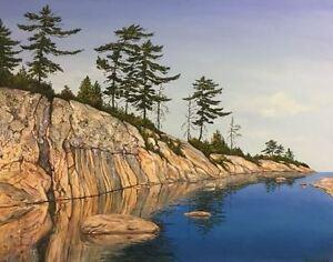 Georgian Bay original paintings by Diane Soward