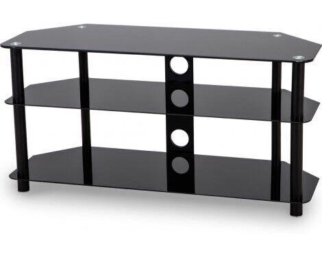 Black Glass Corner Tv Stand In Northampton Northamptonshire Gumtree