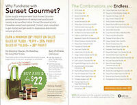 Tired of the same old FUNDRAISERS?  Try Sunset Gourmet!!