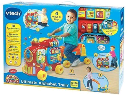 Brand new VTech Push and Ride Alphabet Train