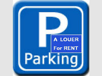 Downtown indoor Parking–face to St-Luc hospital and metro Berri