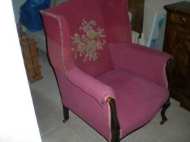 Beautifully elegant and very comfortable armchair