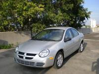 2005 DODGE NEON   AUTOMATIC AND INSPECTED