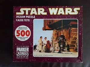 Star Wars 1977 Parker Brothers Puzzle