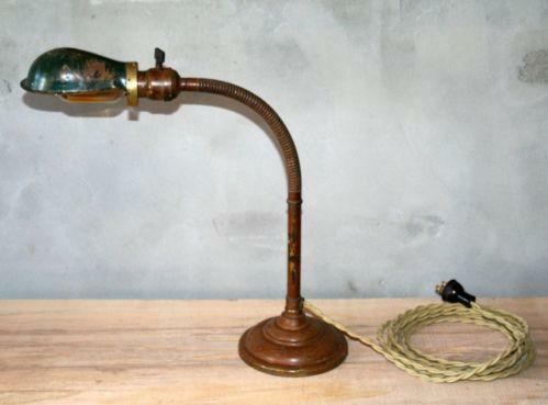 Antique Desk Lamp mid century desk lamp | ebay