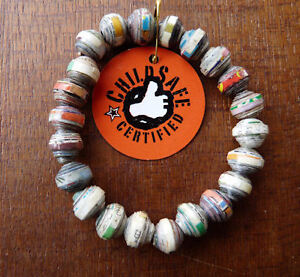 Ethnic-Asian-Jewelry-Paper-Beads-Bracelet-Cambodia-Fair-Trade-Child-Safe-G
