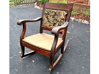 Wanted all old chairs and loungers and foot stalls