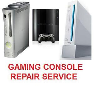 XBOX 360 ONE, NINTENDO, PLAYSTATION PS3 PS4 REPAIR