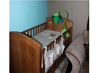 Mothercare Nursery Furniture - Cot, Changing Table and Wardrobe
