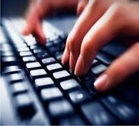 Typing and Content Writing