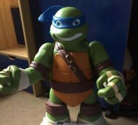 Giant ninja turtle leonardo playset