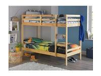 Single Bunk Bed Frame - Pine